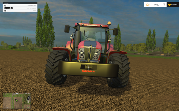 Claas Xerion Weight mod