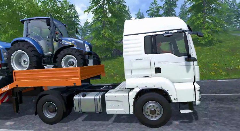 Here some new images from Farming Simulator 2015 Gameplay - Farming