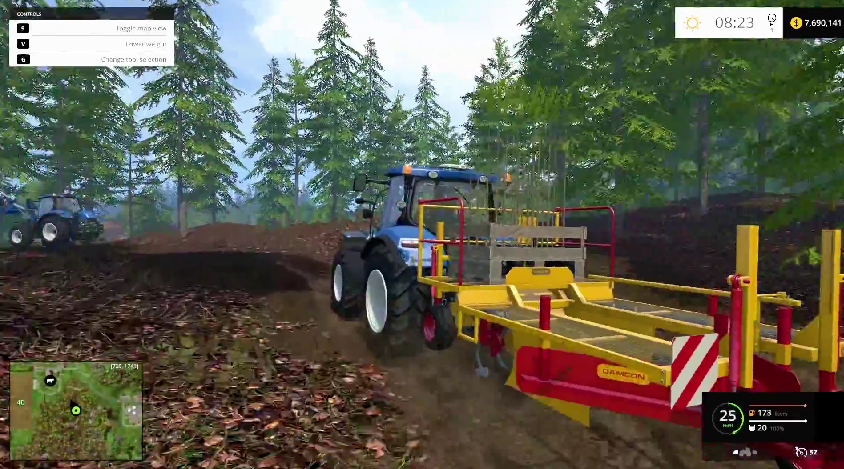 Here some new images from Farming Simulator 2015 Gameplay
