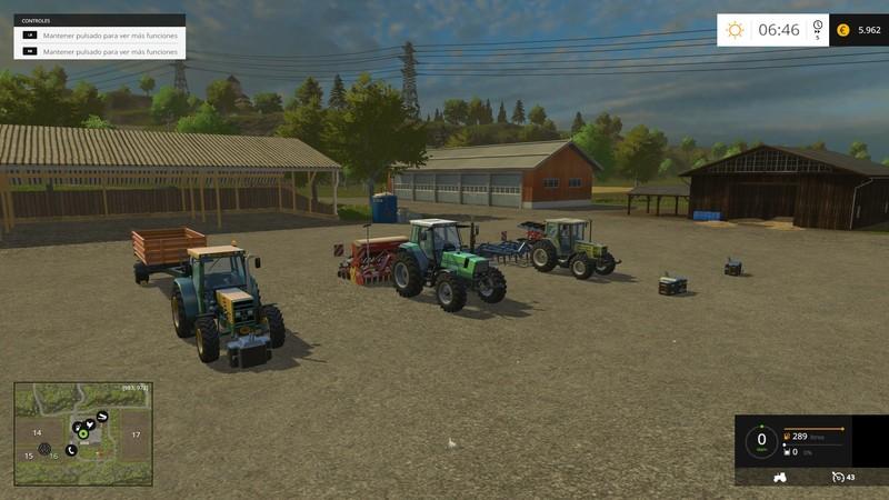 Hagenstedt FS 2015 V 1 0 map - Farming simulator 2019 / 2017 / 2015 Mod