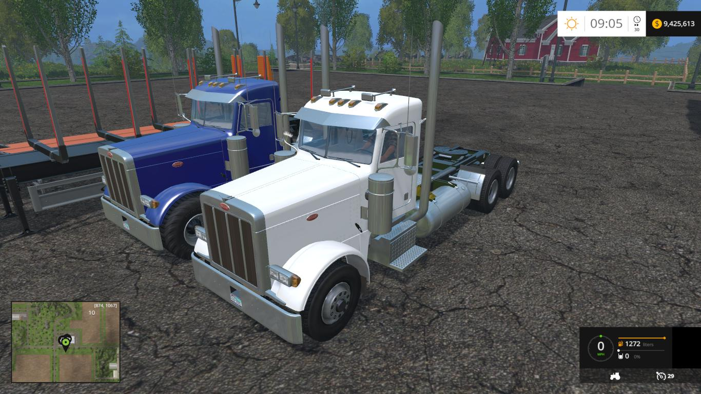 2007 PETERBUILTS 1.0 trucks - Farming simulator 2019 ...