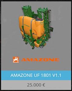 Amazone UF 1801 V 1 1 Gulle for FS 15 (2)