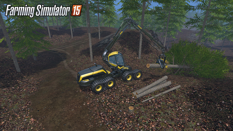 Bojonholm Big Forest V 1 0 MAP - Farming simulator 2019