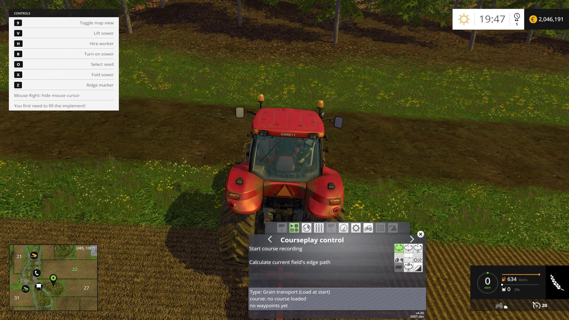 Courseplay V4 00 Beta For Fs 15 Farming Simulator 19 17 15 Mod