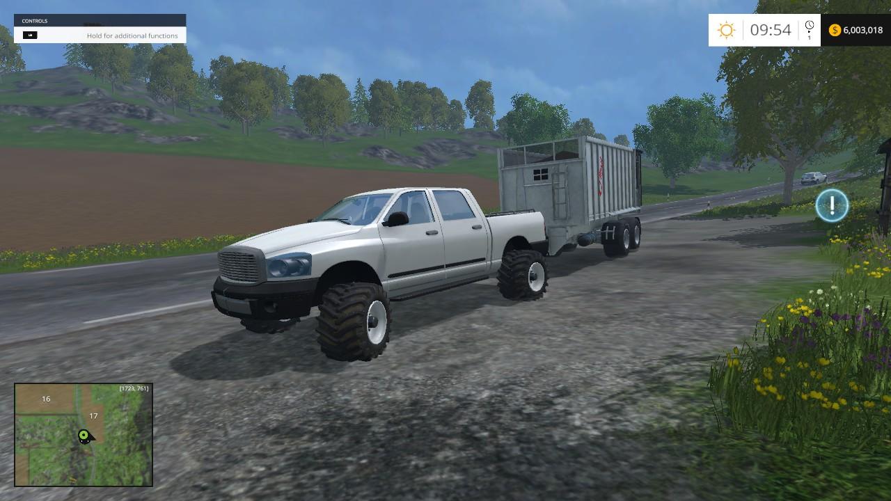 Dodge Cummins For Fs 15 Farming Simulator 19 17 15 Mod