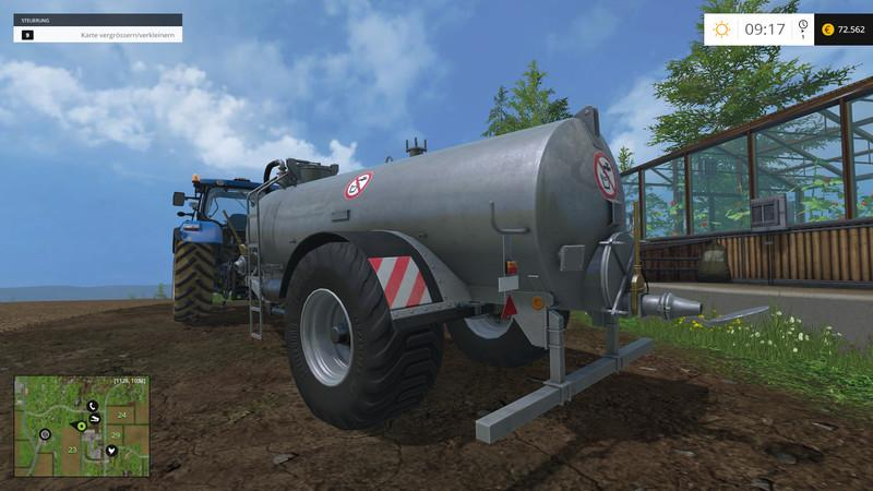 FLIEGL WFW 10600 Liquid manure trailer