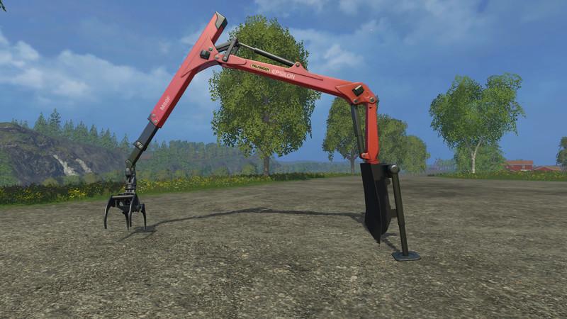 Forestry Heckkran V 1 0 for FS 15 - Farming simulator 2019