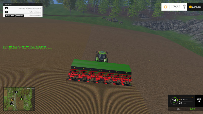 Honda 200 Seeder V 3 0 for FS 15