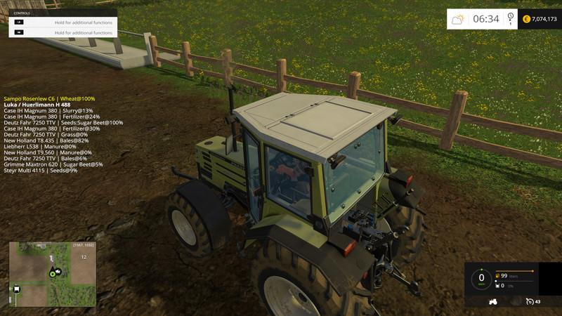 скачать мод инспектор для Farming Simulator 2017 - фото 6
