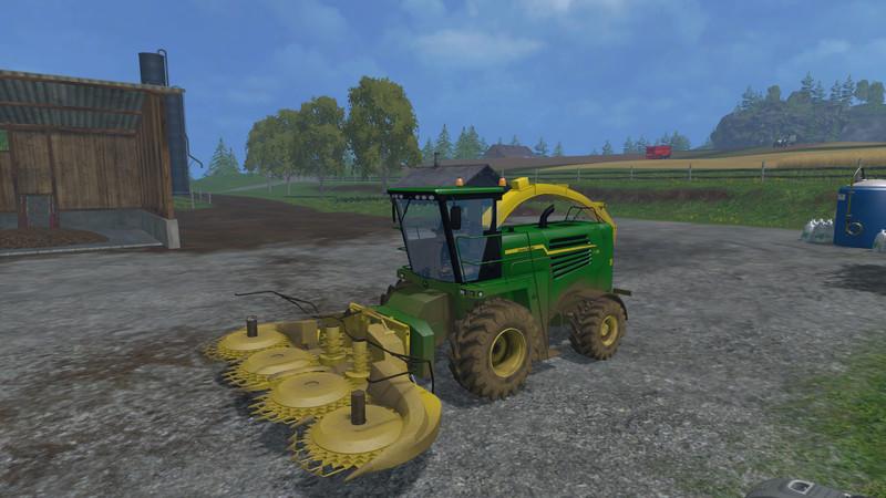 John Deere 7180 Kemper Combine 460plus V 1 0 - Farming simulator