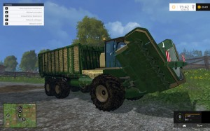Krone BIG L500 Prototype V 1 5 Combine (5)