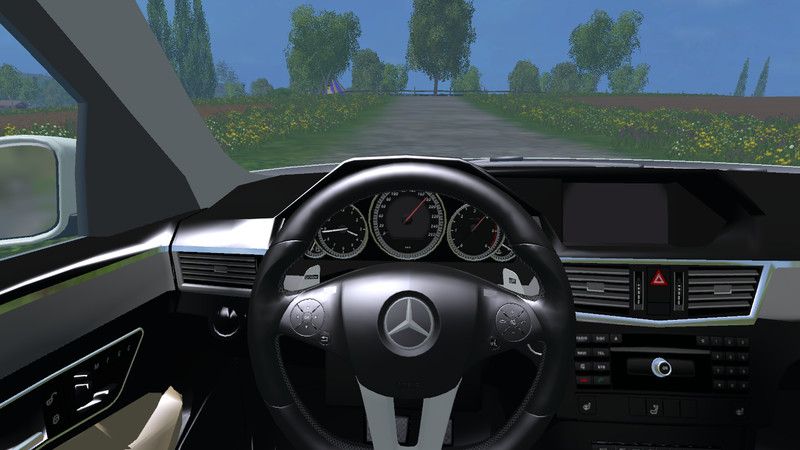 mercedes e class car v 1.0 - farming simulator 2017 / 2015 | 15