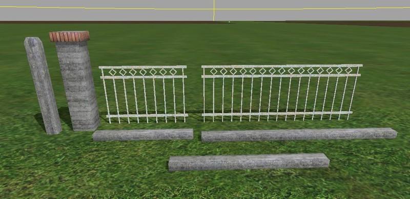 metal fences pack v 10 mod