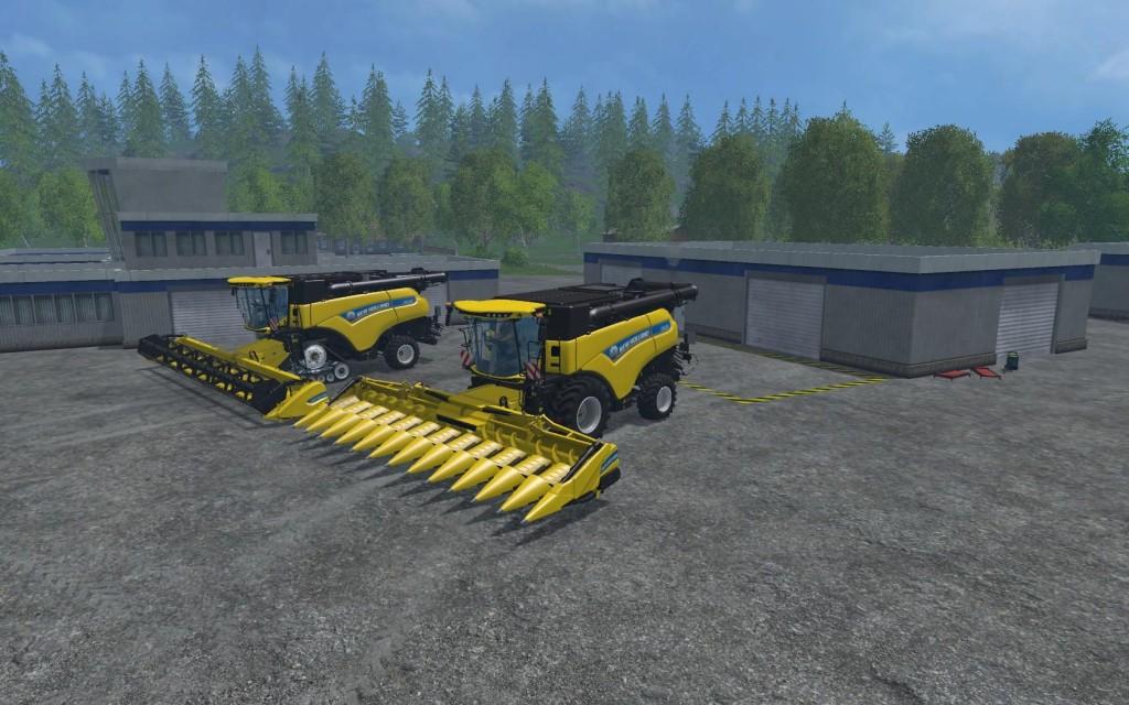 NH CR1090 PACK V1 Combine