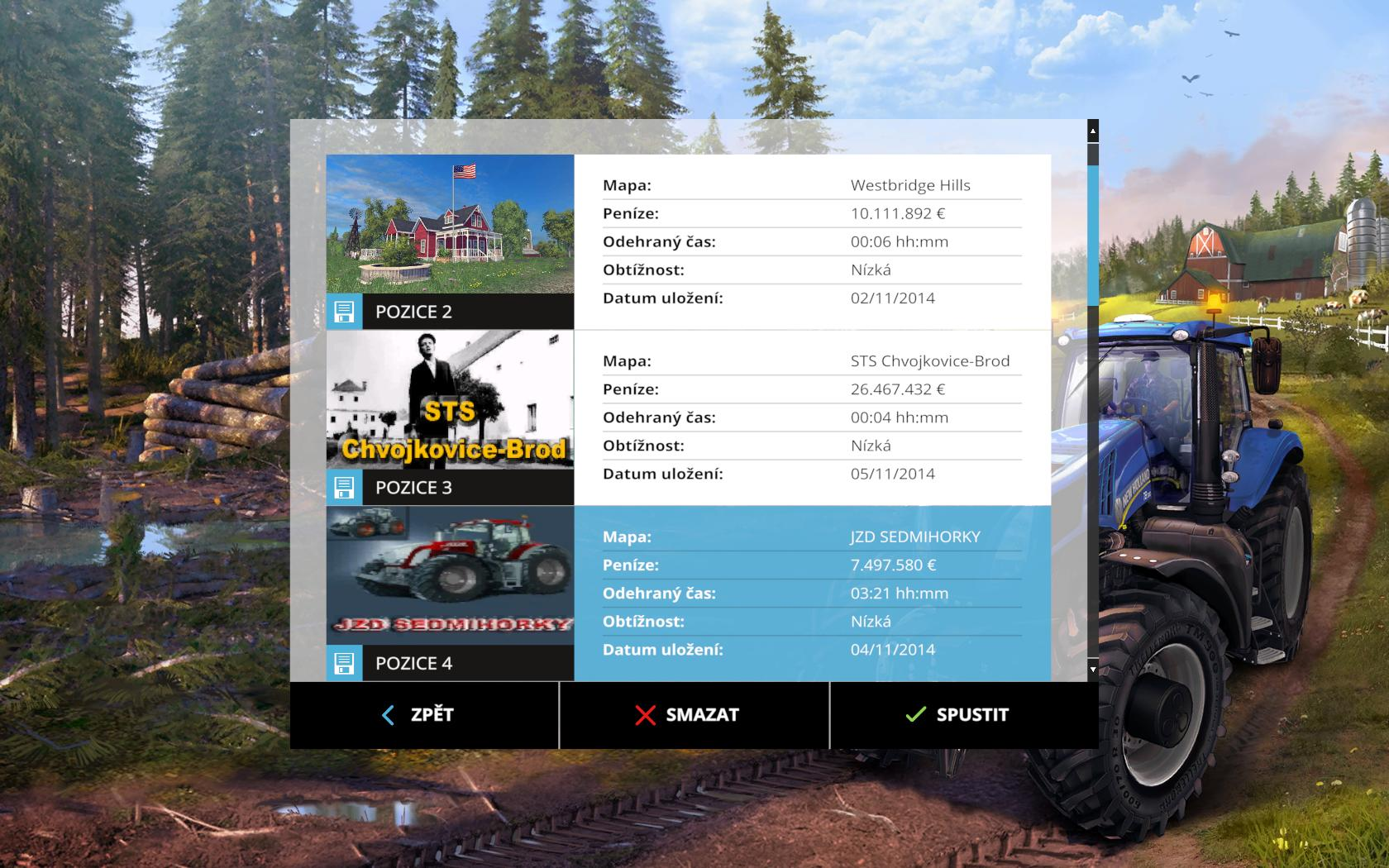 STS CHVOJKOVICE-BROD V1.0 MAP - Farming simulator 2015 / 15 LS mod