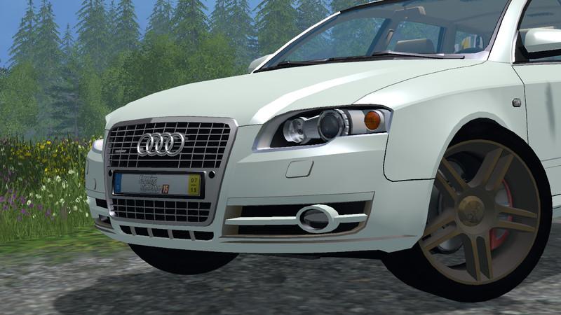 Audi A4 Avant Quattro V 1.0 for FS 2015 - Farming simulator 2015 / 15 LS mod