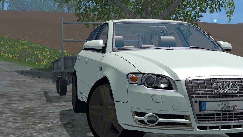 Audi A4 Avant Quattro V 10 For Fs 2015 Farming Simulator 2019