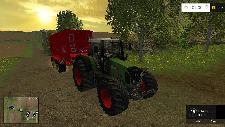 Fendt 820 Tractor V3 0 Farming Simulator 2017 2015