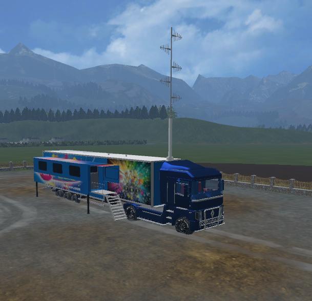 FUN RADIO TRAILLER ZORLAC VERSION MOD - Farming simulator