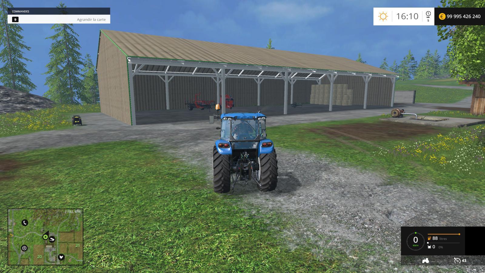 Скачать мод ангар для farming simulator 2017