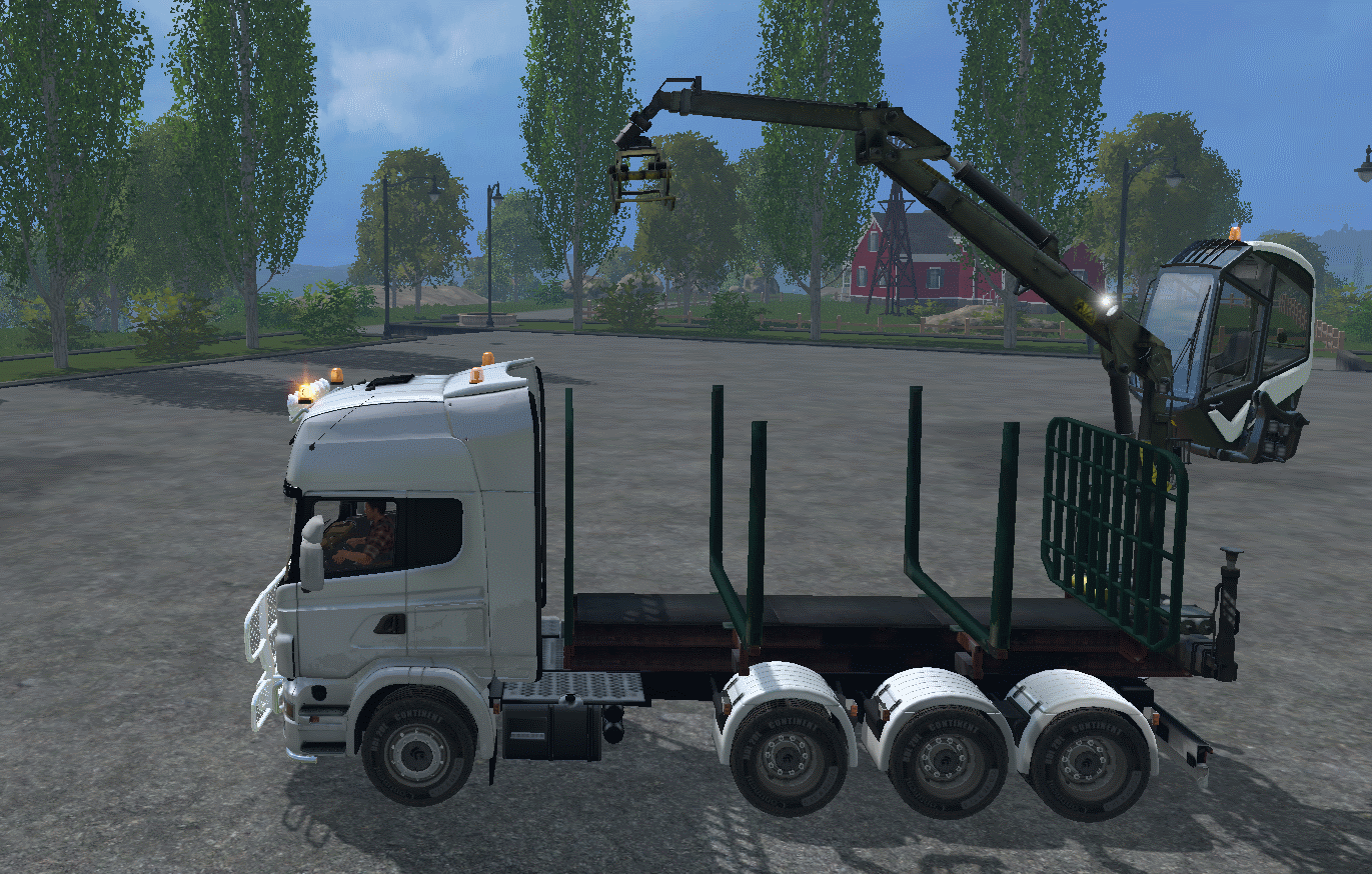 Lantmannen Scaniar730 Forest Truck V1 Farming Simulator