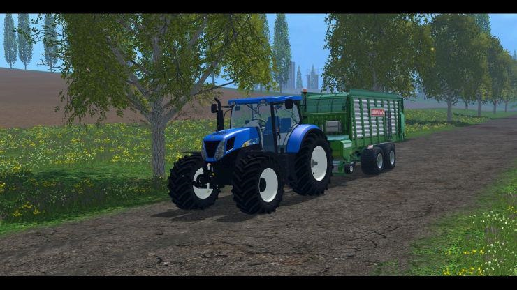 NEW HOLLAND T7030 TRACTOR - Farming simulator 2019 / 2017