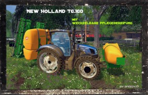NH T6 160 Tractor Replaceable Tires V 1 0 (4)