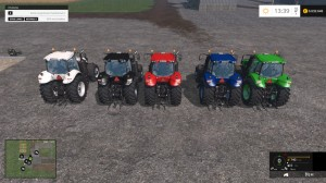 New Holland T8 435 Tractor Color Choice V 2 0 (5)