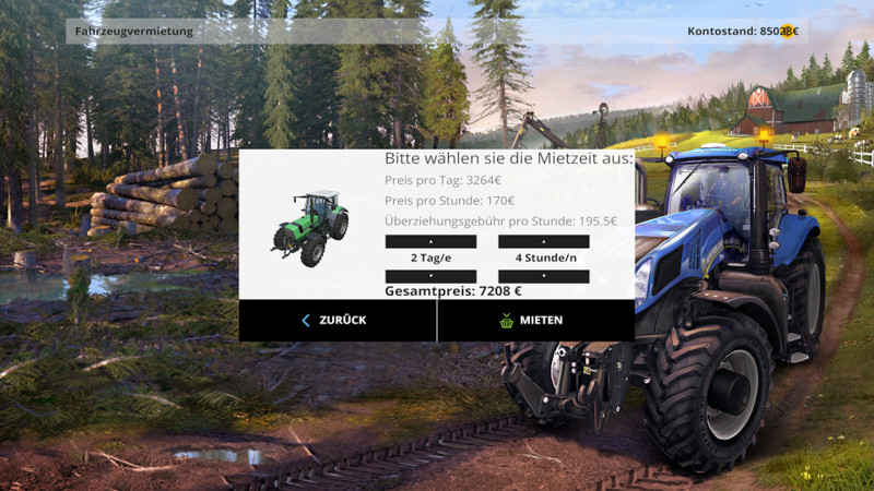Rental Mod V 1 0 for FS 2015 - Farming simulator 2019 / 2017