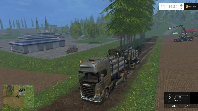 Forestry Mods for Farming Simulator 2015