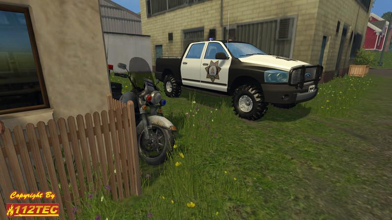 Sheriff Pickup V 1 0 for FS 15 - Farming simulator 2019 / 2017