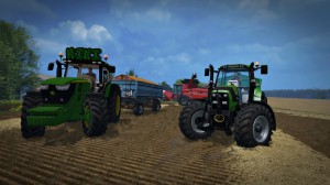 Tractors Mods Pack For transporting Grains FS 15 (1)