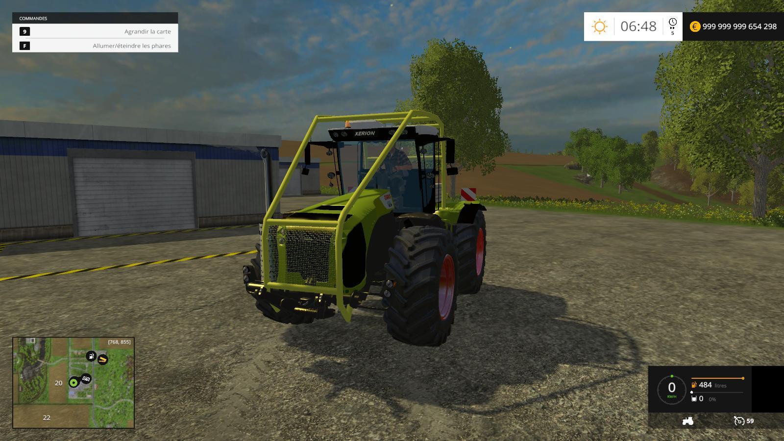 treuil forestier pour farming simulator 2015