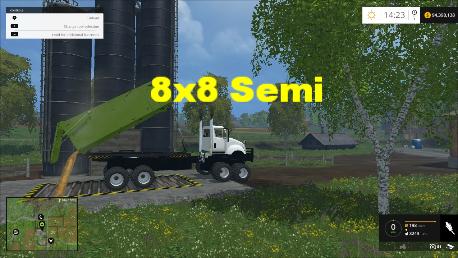 8X8 ponsse semi Truck