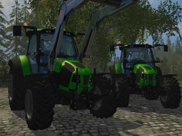 DEUTZ 5120 TTV Tractor