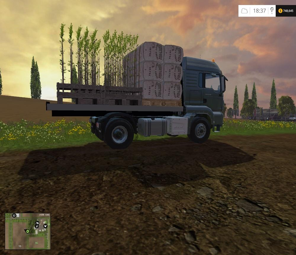 HANDY MAN TRUCK for FS 15 - Farming simulator 2019 / 2017 / 2015 Mod