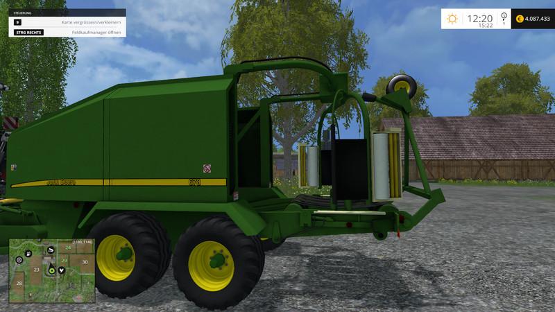 скачать мод пресс для Farming Simulator 2015 - фото 10