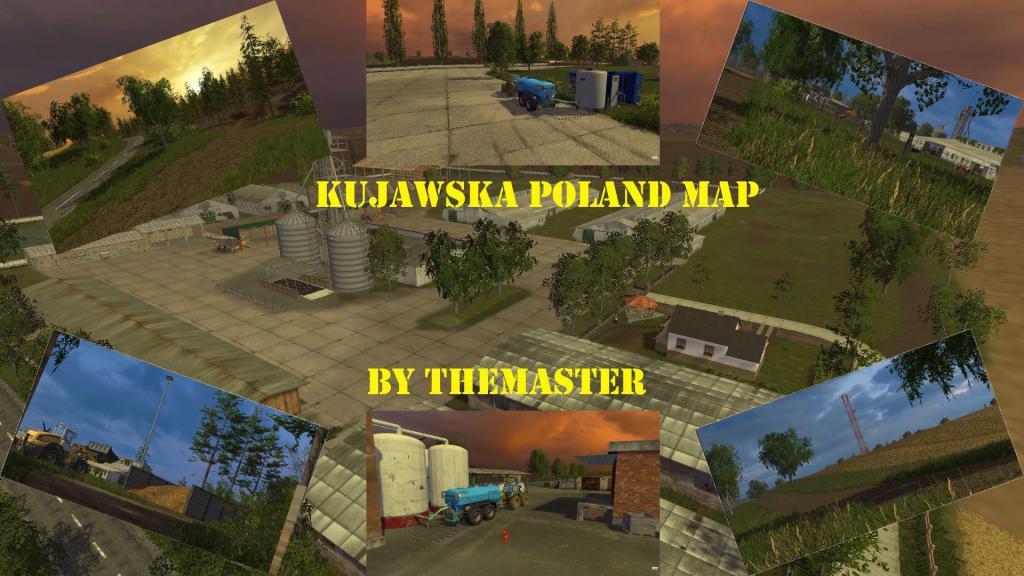 KUJAWSKA POLAND MAP BY THEMASTERTEAMTV for FS 15