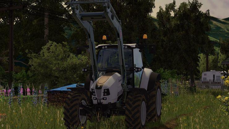 Lamborghini Nitro 120 Vrt Tractor V1 1 Farming Simulator 2019