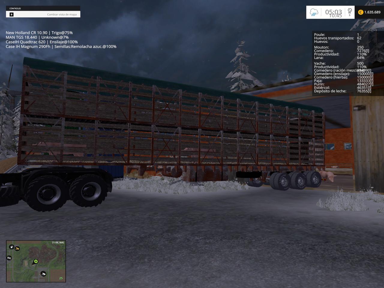 MODS PACK FS15 V1 - Farming simulator 2015 / 15 LS mod