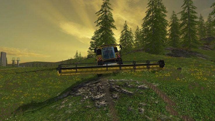 NEW HOLLAND CR10 90 Combine PACK