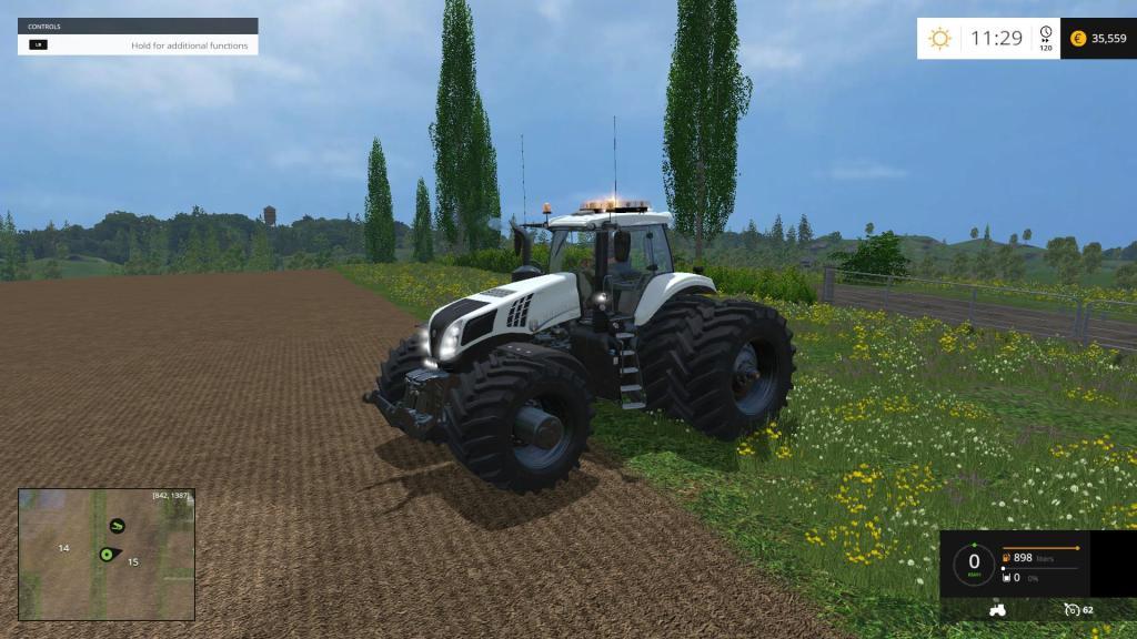 NEW HOLLAND T832 EVOXTREME 620 Tractor V1 12 FIX