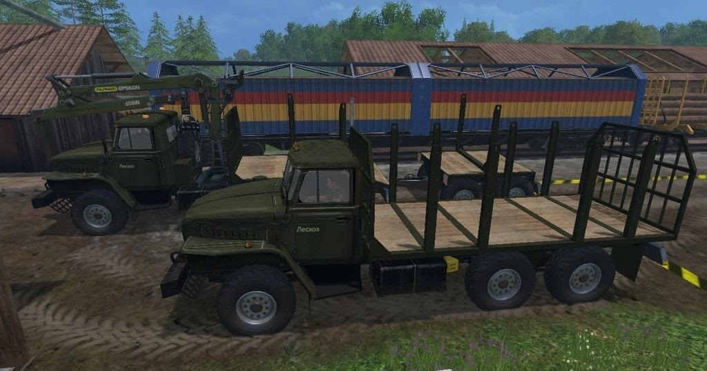 URAL Timber Edition Pack for FS 2015