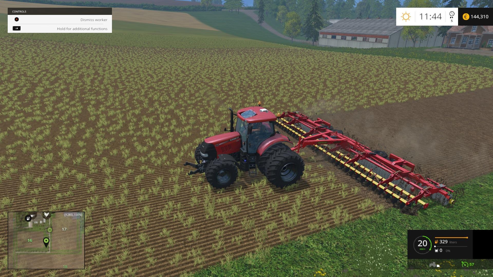 VAEDERSTAD CARRIER 820 WIDE V1 0 MOD - Farming simulator 2019 / 2017