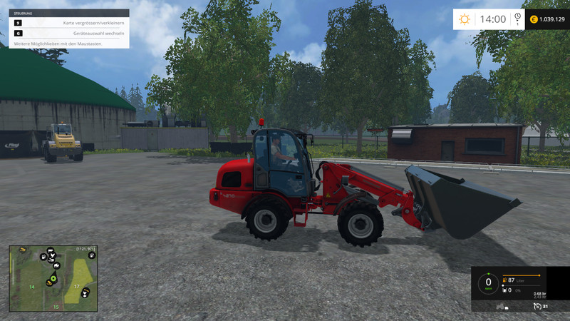 Weidemann 4270 CX100T V 1 0 for FS 15 - Farming simulator 2019