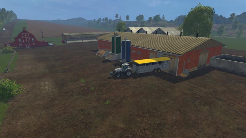 Westbridge Forest MAP V Farming Simulator - Farming simulator 2015 us map feed cows