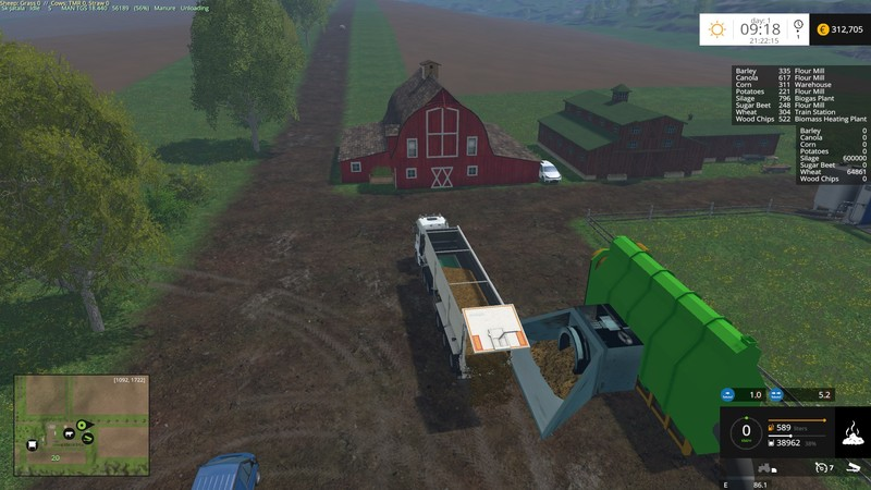 Westbridge Storage Addon V 3 0 for FS 2015 - Farming simulator 2019