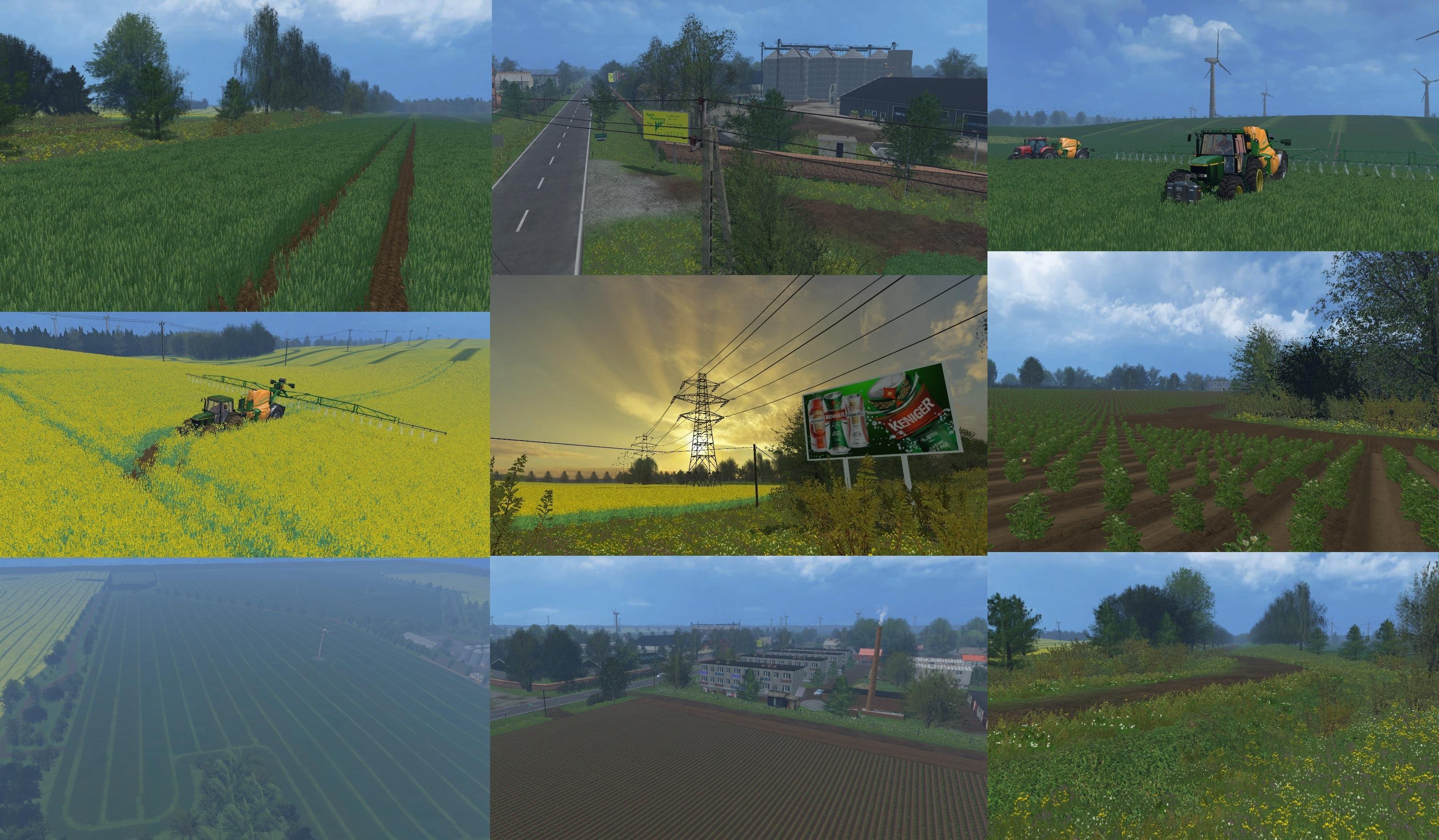Canadian Map Farming Simulator 2015%0A AGRO POMORZE MAP V    for FS
