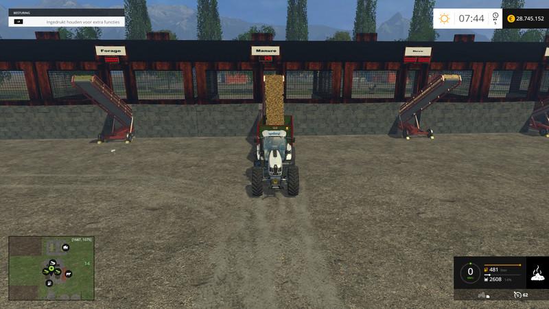 BigFarm Map V Multifruit Farming Simulator - Farming simulator 2015 us map feed cows