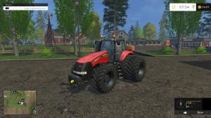 CASEIH MAGNUMS WITH FRONT ATTACHERS. TWIN PACK TRACTOR V1 (1)